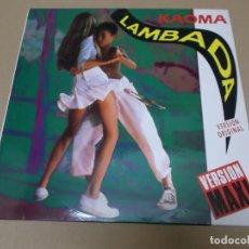 Discos de vinilo: KAOMA (MX) LAMBADA +1 TRACK AÑO 1989. Lote 155002598