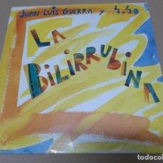 Discos de vinilo: JUAN LUIS GUERRA + 4.40 (MX) LA BILIRRUBINA +2 TRACKS AÑO 1991. Lote 155002934