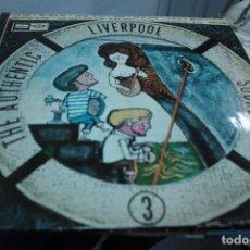 Discos de vinilo: AUTHENTIC LIVERPOOL SOUND VOL 3 LP ESPAÑOL GERRY & THE PEACEMAKERS BILLY J KRAER DAKOTAS MANFRED MAN. Lote 155004006