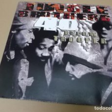 Discos de vinilo: JUNGLE BROTHERS (MX) 40 BELOW TROOPER +4 TRACKS AÑO 1993 – EDICION U.S.A.. Lote 155004638