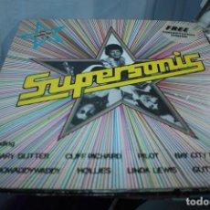 Discos de vinilo: SUPERSONIC - VARIOS, RECOPILATORIO 1975. Lote 155004958
