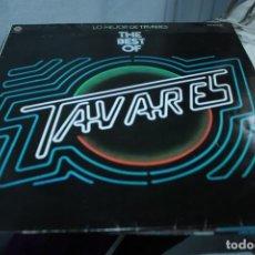 Discos de vinilo: LP. VINILO . TAVARES . LO MEJOR DE TAVARES . CAPITOL 1977. Lote 155005574
