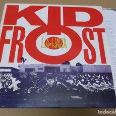 Discos de vinilo: KID FROST (MX) LA RAZA +3 TRACKS AÑO 1990 – CON HOJA PROMOCIONAL. Lote 155005798