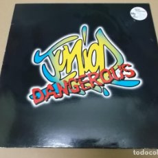 Discos de vinilo: JUNIOR DANGEROUS (MX) LIFE IS FUNNY +5 TRACKS AÑO 1995 – EDICION U.K.. Lote 155009074