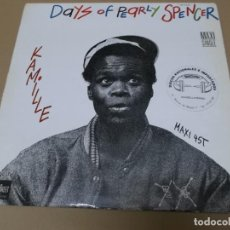 Discos de vinilo: KAMILLE (MX) THE DAYS OF PEARLY SPENCER +1 TRACK AÑO 1994. Lote 155009326