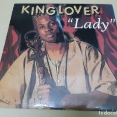 Discos de vinilo: KING LOVER (MX) LADY +2 TRACKS AÑO 1994. Lote 155009946