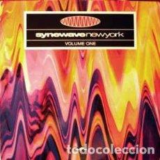 Discos de vinilo: VARIOUS - SYNEWAVE NEW YORK VOLUME 1 (2XLP, COMP). Lote 155018446