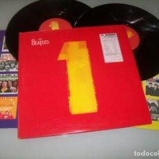Discos de vinilo: THE BEATLES - NUMBER 1 - 2 LP´S - APPLE ..DE EDICION . UK 5293251-B... 1ª EDICION DEL AÑO 2.000. Lote 155018826