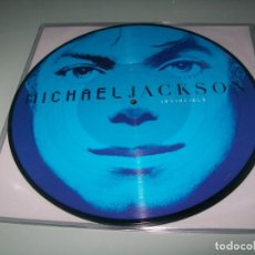 Discos de vinilo: MICHAEL JACKSON - INVINCIBLE ... 2 LP´S - PICTURE DISC - NUEVO 2018 CON 4 COLORES DIFERENTES. Lote 155019490