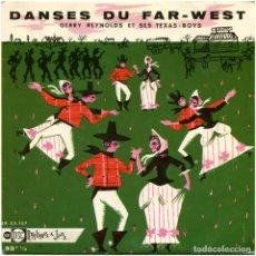 Discos de vinilo: GERRY REYNOLDS ET SES TEXAS BOYS – DANSES DU FAR-WEST - EP FRANCE - UNIDISC EX 33 127 - MOUILLARD . Lote 155020882