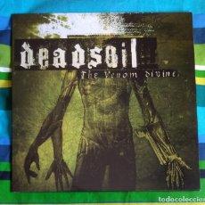 Discos de vinilo: DEADSOIL - THE VENOM DIVINE 12'' LP - METALCORE DEATH METAL. Lote 155026790