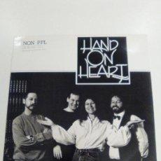 Discos de vinilo: HAND ON HEART ( 1988 HOH RECORDS UK ) EXCELENTE ESTADO. Lote 155026914