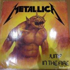 Discos de vinilo: METALLICA-JUMP IN THE FIRE 1983 UK. Lote 155040306
