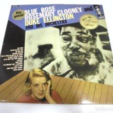 Discos de vinilo: LP. BLUE ROSE. ROSEMARY CLOONEY AND DUKE ELLINGTON. 1956. CBS. Lote 155068766
