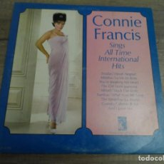 Discos de vinilo: CONNIE FRANCIS - SINGS ALL TIME INTERNATIONAL HITS (USA 1965). Lote 155071266