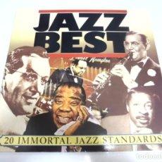 Discos de vinilo: LP. JAZZ BEST. 20 IMMORTAL JAZZ STANDARDS. 1983. Lote 155077650