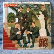 Discos de vinilo: LOS SIREX - CIAO AMIGO / JAMBALAYA / QUE TE DEJE DE QUERER + 1 - EP VERGARA AÑO 1964 COMO NUEVO. Lote 155080486