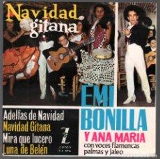 Discos de vinilo: NAVIDAD - NAVIDAD GITANA (EMI BONILLA Y ANA MARIA) EP 1963 RF-3724. Lote 155082154