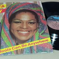 Discos de vinilo: LP - ROBERTA KELLY - ROOTS CAN BE ANYWHERE - 1ª EDICION MADE IN CANADA - ROBERTA KELLY. Lote 155082486