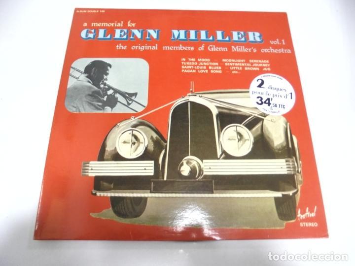 LP. DOBLE. A MEMORIAL FOR GLENN MILLER. VOL.1. (Música - Discos - LP Vinilo - Otros estilos)