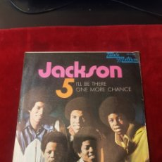 Discos de vinilo: SINGLE THE JACKSON5 IL BE THERE ONE MORE CHANCE PROMOCIONAL. Lote 155086536