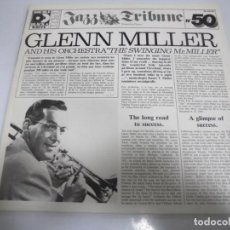 Discos de vinilo: LP. DOBLE. GLENN MILLER AND HIS ORCHESTRA THE SWINGING MR.MILLER. RCA EDITEUR. Lote 155087610