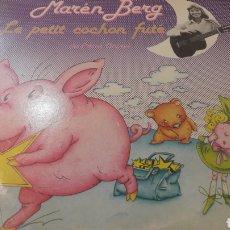 Discos de vinilo: DISCO INFANTIL MAREN BEEG LE PETIT CACHON FUTE DE PIERRE CRIPAN FRANCIA. Lote 155088064