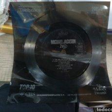 Discos de vinilo: SINGLE FLEXIDISC PROMOCIONAL MICHAEL JACKSON BAD 1987 ESCUCHADO. Lote 155093788