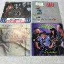 Discos de vinilo: 4 SINGLE POISON, CHICAGO, THE CARS, ALICE COOPER, AÑOS 70-80 . Lote 155096914