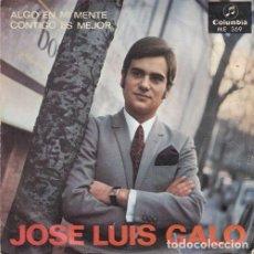 Discos de vinilo: JOSE LUIS GALO - ALGO EN MI MENTE - SINGLE DE VINILO. Lote 155100514