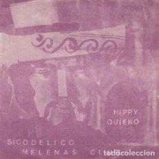 Discos de vinilo: FRANK MILLER Y SU ORQUESTA - SICODELICO / MELENAS CLUB / HIPPY / QUIERO - EP DE VINILO. Lote 155101266