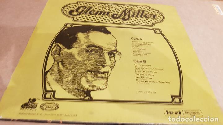 Discos de vinilo: SIEMPRE GLENN MILLER / LP - CENTURY RECORDS / DISCOLIBRO - 1974 / MBC. ***/*** - Foto 2 - 155101874