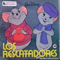 Discos de vinilo: WALT DISNEY ?– LOS RESCATADORES - EP CUENTO-DISCO BRUGUERA 1979. Lote 155104522