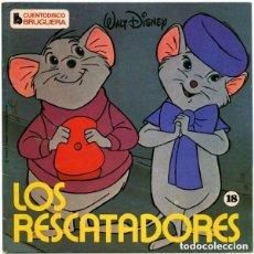 Discos de vinilo: WALT DISNEY – LOS RESCATADORES - EP CUENTO-DISCO BRUGUERA 1979. Lote 155104682