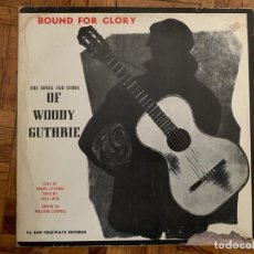 Discos de vinilo: WOODY GUTHRIE ?– BOUND FOR GLORY SELLO: EDIGSA ?– FA 2481 FORMATO: VINYL, LP, ALBUM PAÍS: SPAIN . Lote 155108934
