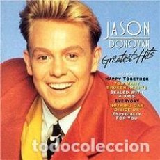 Discos de vinilo: JASON DONOVAN GREATEST HITS LP ALBUM SPAIN 1991. Lote 155128446