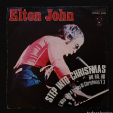 Discos de vinilo: ELTON JHON - STEP INTO CHRISMAS (SINGLE). Lote 155140585