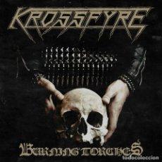 Discos de vinilo: KROSSFYRE - BURNING TORCHES - 12 [HELLS HEADBANGERS, 2017]. Lote 217948268
