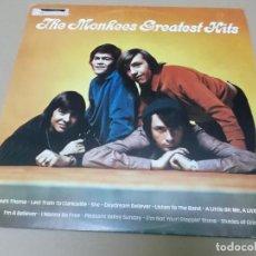 Discos de vinilo: THE MONKEES (LP) GREATEST HITS AÑO 1982. Lote 155148054