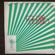 Discos de vinilo: -TONIO- NELO COSTA. BARRERAS - CARIÑO - SUEÑO - ES EL VAIVEN - BERTA 1969 - MUY RARO. Lote 155149542