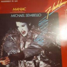 Discos de vinilo: MICHAEL SEMBELLO-MANIAC(LONG VERSION). Lote 155150348