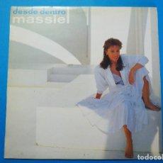 Discos de vinilo: LP VINILO MASSIEL. DESDE DENTRO. (1986).. Lote 155151662
