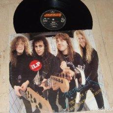 Disques de vinyle: METALLICA – THE $5.98 E.P. - GARAGE DAYS RE-REVISITED-1987- ORIGINAL -EDICION HOLANDESA-RARE!!. Lote 155154514