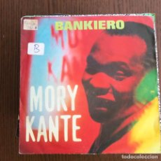 Discos de vinilo: MORY KANTE - BANKIERO / SANFING - SINGLE BARCLAY ALEMANIA 1990 . Lote 155154614