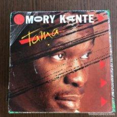 Discos de vinilo: MORY KANTE - TAMA - SINGLE BARCLAY 1988 . Lote 155154774