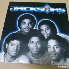 Dischi in vinile: THE JACKSON (LP) TRIUMPH AÑO 1980. Lote 155155950