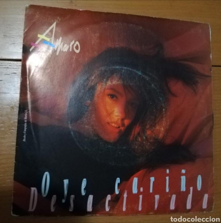 AMARO - OYE CARIÑO (Música - Discos - Singles Vinilo - Solistas Españoles de los 70 a la actualidad)