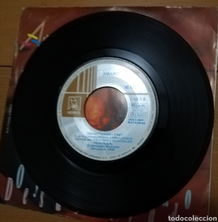 Discos de vinilo: Amaro - Oye cariño - Foto 2 - 155156680