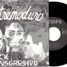 Discos de vinilo: EXTREMODURO. EXTREMAYDURA. LA HOGUERA (VINILO SINGLE 1990). Lote 155161762