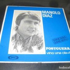 Dischi in vinile: MANOLO DIAZ - POSTGUERRA. Lote 155169010